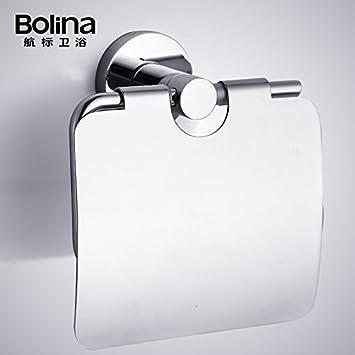 desy Papel estante porta toallas, inoxidable acero de metal-baño/Portarrollos /: Amazon.es: Hogar