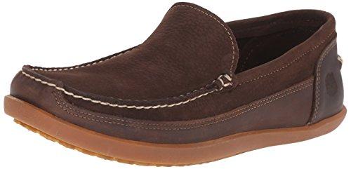 - Timberland Men's Odelay Venetian Slip-On Loafer, Dark Brown Nubuck, 8 M US