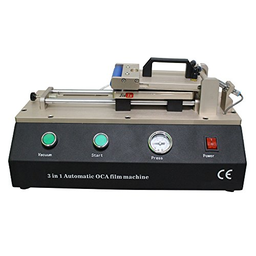 3 in 1 Automatic OCA Machine Polarizer Film / OCA Laminating For Phone Screen Refurbishment With Bulid-in Vacuum Pump