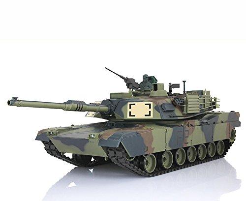 2.4Ghz 1/16 Scale Radio Remote Control US M1A2 Abrams RC ...