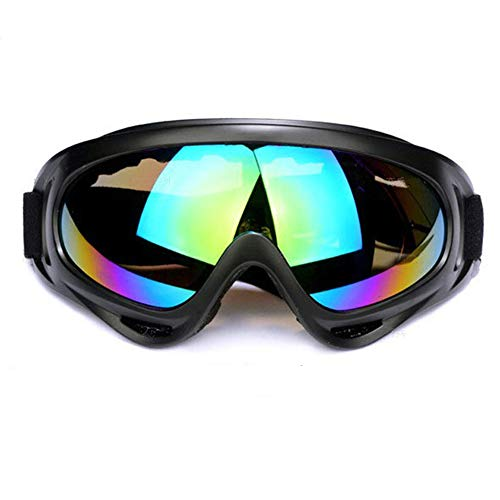 ThisReallycute Ski Goggles, Snowboard Goggles for Kids, Boys & Girls, Youth, Men & Women, with UV Protection, Wind Resistance, Anti-Glare Lenses