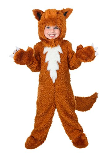 Costume Fox Furry Toddler (Toddler Fox Costume 4T)