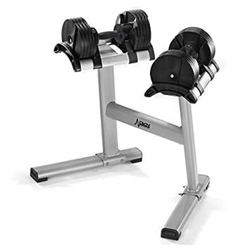 DKN Juego de 2 pesas de peso oscila Dumbbell Twistlock modelo 20243 Stand: Amazon.es: Deportes y aire libre
