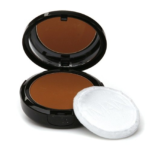 By Iman Luxury Pressed Powder - IMAN Luxury Pressed Powder, Earth Dark 0.35 oz (10 g)