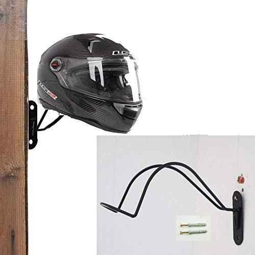 Ganchos de pared metálicos para casco – colgador de pared resistente para casco de bicicleta, cascos de motocicleta,...