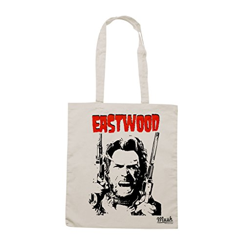 Borsa CLINT EASTWOOD WESTERN - Sand - FILM by Mush Dress Your Style