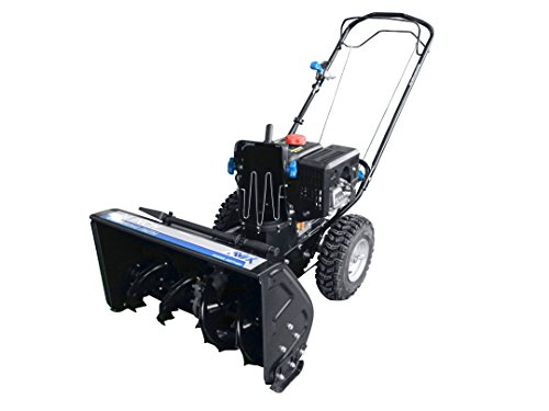 AAVIX AGT1424 208cc 2-Stage Electric Start Self-Propelled Snow Blower, 24