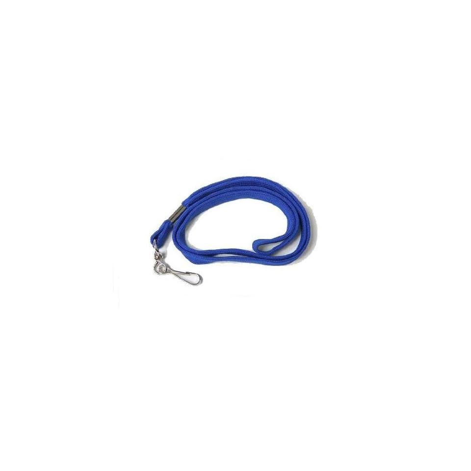 WHISTLE STRAP   LANYARD   COTTON BLUE