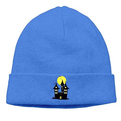 [Fashion Cute-halloween RoyalBlue Head Cap Headgear Hiphop For Unisex] (The Flintstones Halloween)