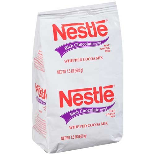 Nestle Regular Hot Chocolate Drink, 1.5 Pound -- 12 per case. by Nestle