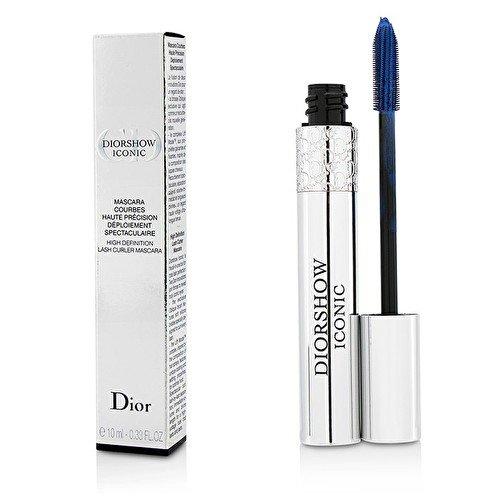 Diorshow Iconic High Definition Lash Curler Mascara No.268 Navy Blue Women Mascara by Christian Dior, 0.33 Ounce