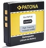 Bundlestar - Batteria di qualità per Fujifilm NP-50, NP-50A, compatibile con Fuji Finepix XF1, X20, X10, F900EXR, F850EXR, F800EXR, F770EXR, F750EXR, F660EXR, F600EXR, F550EXR, F500EXR, F300EXR, F70EXR, batteria per Real 3D W3, XP150 XP100 (compatibile al 100% con l'originale)