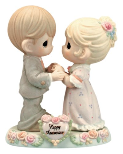 (Precious Moments,  Our Love Was Meant To Be, Bisque Porcelain Figurine, 115909)