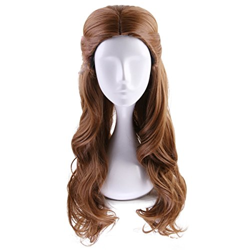 Southern Belle Costume Kids - Deifor Long Brown Wavy Synthetic Hair
