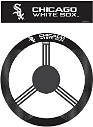 MLB Chicago White Sox Poly-Suede Steering Wheel Cover