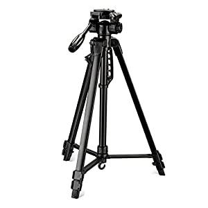 DIGITEK® DTR 550 LW (67 Inch) Tripod For DSLR, Camera |Operating Height: 5.57 Feet | Maximum Load Capacity up to 4.5kg…