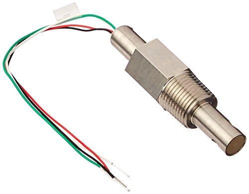 Sensorex CS650-K=1.0 TC=PT1 Stainless Steel Industrial Contacting Conductivity Sensor with ATC Temperature Sensor, 1/2