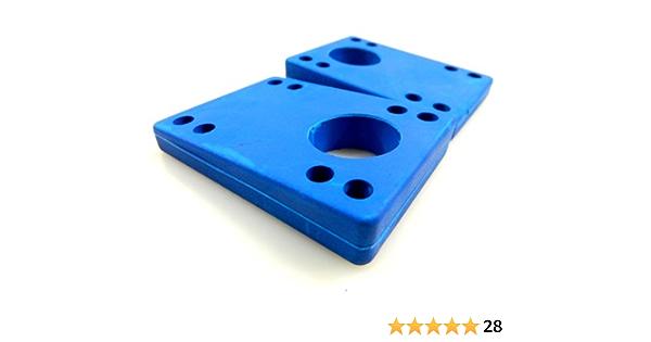 Globe longboard//slant wedge riser pads lot de 2 cales pour augmenter votre boards//couleur noir