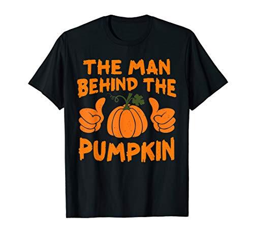 The man behind the Pumpkin Tshirt Pumpkin Halloween gifts T-Shirt
