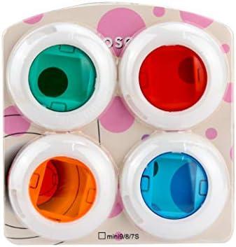 //9 Pel/ícula instant/ánea Cpano Close Up Color Juego de filtros de Lente para Fujifilm Instax Mini 7s //8//8 6 Piezas 6 Piezas