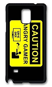 Adorable caution angry gamer Hard Case Protective Shell Cell Phone For Case Iphone 5/5S Cover
