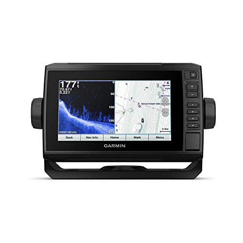 Garmin EchoMAP Chirp 74sv with ClearVu transducer-010-N1803-01 (Certified Refurbished) ()