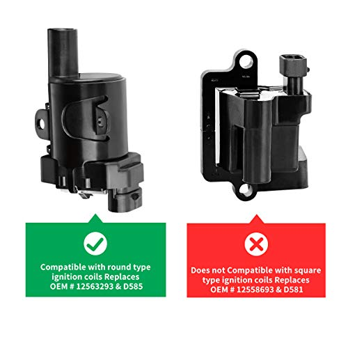 Ignition Coil Pack of 8 for Chevy Avalanche Express Silverado Suburban on