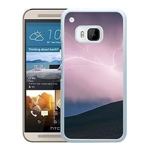 Thunder Lightning (2) Durable High Quality HTC ONE M9 Phone Case