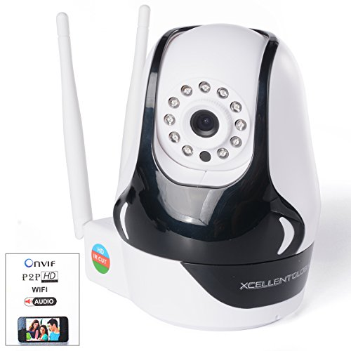 Xcellent Global Pan & Tilt IP/Network Camera with Two-Way Audio and Night Vision (White) AV012S Review