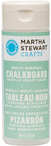 Martha Stewart Crafts Chalkboard Paint in Assorted Colors (6-Ounce), 32215 Green