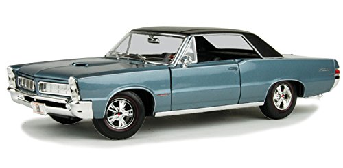 Maisto 31885 1965 Pontiac GTO Hurst Blue 1/18 Diecast Model Car
