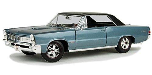 Maisto 31885 1965 Pontiac GTO Hurst Blue 1/18 Diecast Model Car (Gto Model Car)