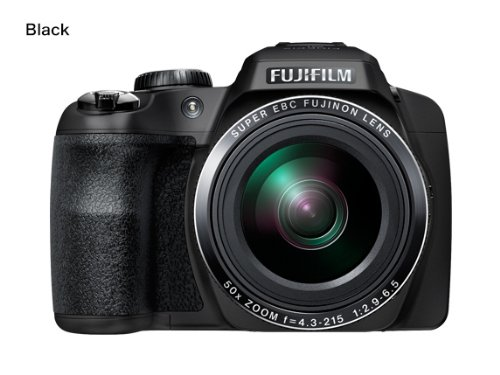 Fujifilm FinePix SL1000 16.2MP Digital Camera with 3-Inch LCD (Black) (Discontinued by ()