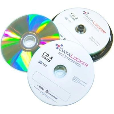 DataLocker EncryptDisc DLCD100 CD Recordable Media - CD-R - 700 MB - 100 Pack by Data Locker