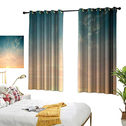 Bedroom Curtains W55