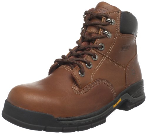Wolverine Men's Harrison W04904-M, Brown Leather, 11.5 M US