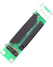 Facibom SCSI SCA 80Pin to 68Pin Female Ultra SCSI II/III LVD- SCSI 80-68 Card