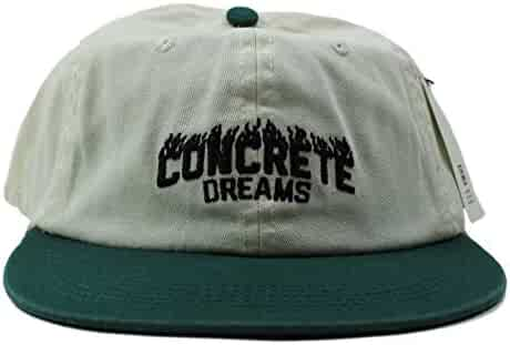 453890233056a Globe Mens Concrete Dreams Low Rise Snapback Hat Dirty White Mens One Size