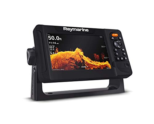 Raymarine Element 7 HV with HV-100 Transducer and Navionics+ US and Canada Charts, Black