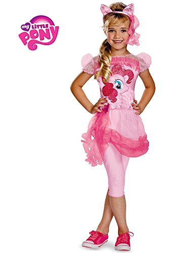 Hasbro's My Little Pony Pinkie Pie Classic Girls Costume, Medium/7-8