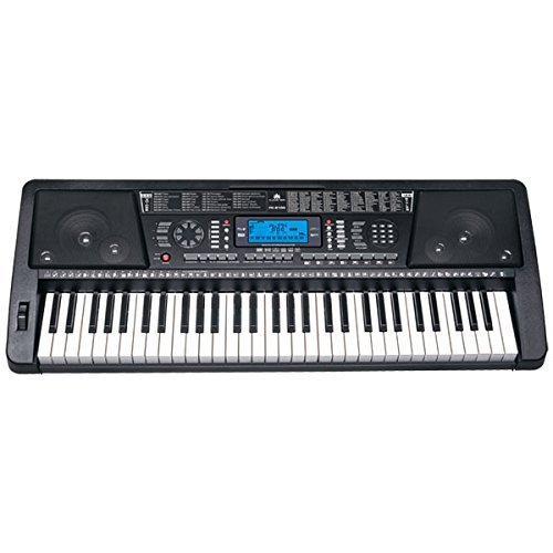 Audster FK-6100, 61-Key Professional Performance MIDI Keyboard Electronic Piano with LED Display by Audster