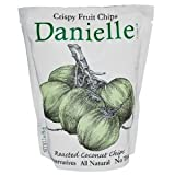 Danielle B67081 Danielle Roasted Coconut Crispy Fruit Chips - 6x2Oz