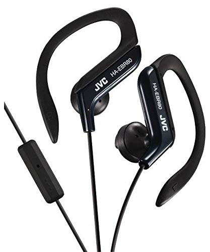 Sport-Clip in-Ear Ear-Clip Headphones, Microphone and Remote (Jvc Sportclip Earbud Headphones)