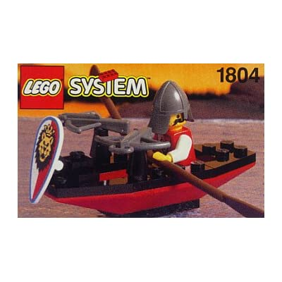 Lego 1804 Royal Knights Crossbow Boat with Figure: Toys & Games