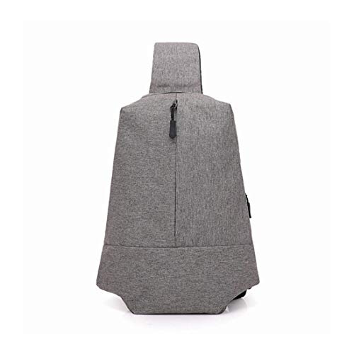 Toile À Extérieur Bandoulière En Sac Shizheshop Gray color Pour Hommes Gray De Diagonal Sport qwSYn5x