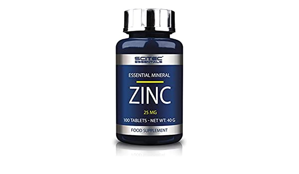 SCITEC Essentials Zinc - 100 caps.: Amazon.es: Salud y ...