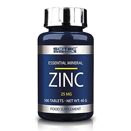 SCITEC Essentials Zinc - 100 caps.