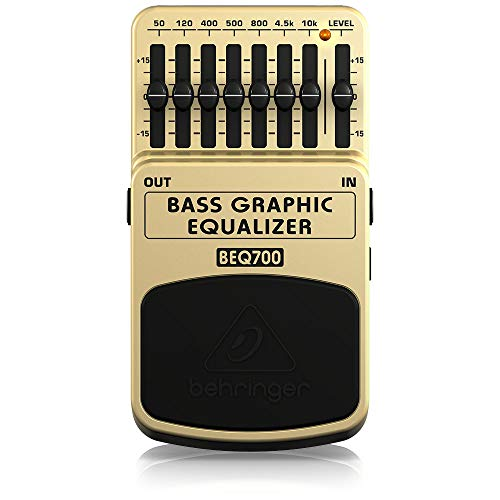Behringer BEQ700 Ultimate 7-Band Bass Graphic Equalizer