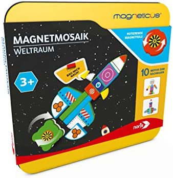 noris 606041769 Magneticus Magnetmosaik-Weltraum