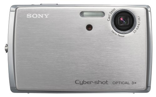 Cyber Shot Docking Station - Sony Cybershot DSCT33 5.1MP Digital Camera with 3x Optical Zoom (Includes Docking Station)